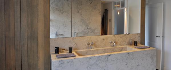 badkamer-natuursteen - Yves Michiels - Interieur & Architectuur